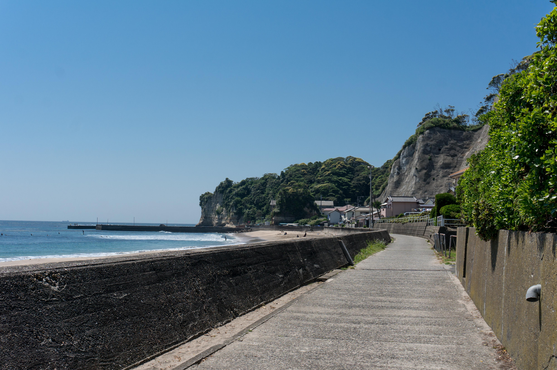 豊浜海岸の脇道