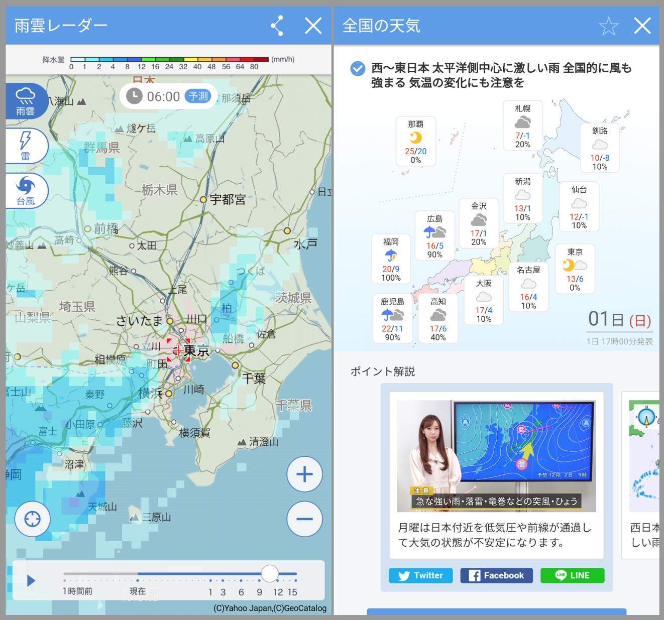 雨雲 レーダー 市 益田