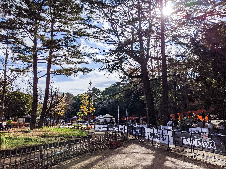 千葉公園の大会景観
